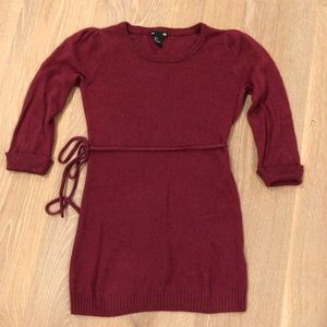 H&M Burgundy Sweater